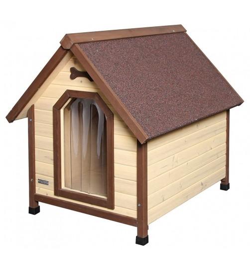 خانه چوبی سگ کربل مدل چهار فصل/ 4-Seasons