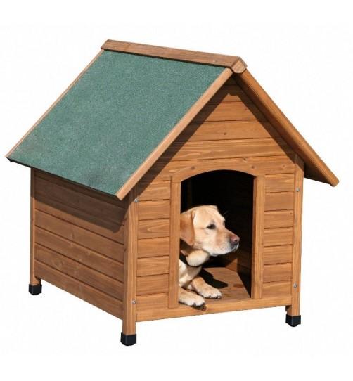 خانه چوبی سگ کربل مدل کلاسیک/ سایز متوسط