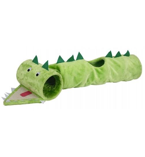 تونل بازی گربه مدل تمساح/ 125 سانتی