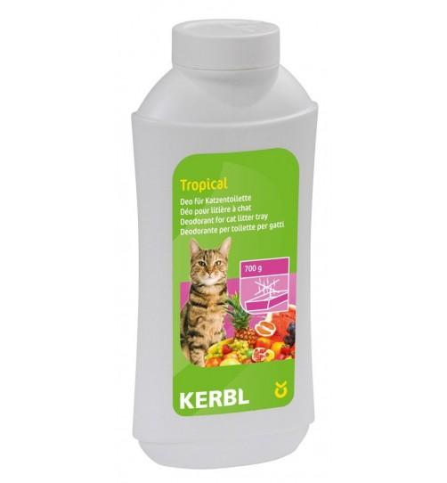 پودر خوشبو کننده خاک گربه با رایحه میوه های گرمسیری