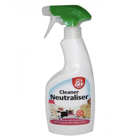 اسپری استاپر و تمیز و ضد عفونی کننده بو و لک ادرار، مدفوع و استفراغ سگ و گربه