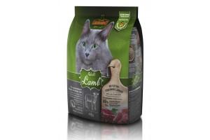 غذای خشک لئوناردو با طعم بره مخصوص گربه حساس و بدغذا/ 400 گرم/  LEONARDO ADULT LAMB
