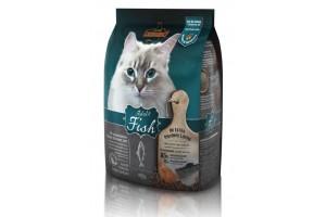 غذای خشک لئوناردو با طعم ماهی مخصوص گربه حساس و بدغذا/ 400 گرم/ LEONARDO Adult Fish