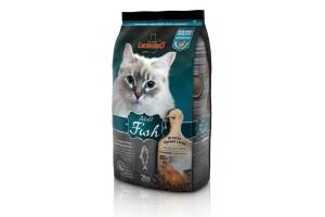 غذای خشک لئوناردو با طعم ماهی مخصوص گربه حساس و بدغذا/ 2 کیلویی/ LEONARDO Adult Fish
