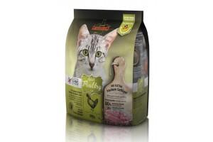 غذای خشک فاقد غلات لئوناردو مخصوص گربه های مبتلا به حساسیت غذایی/ 300 گرم/ LEONARDO Adult Poultry GF