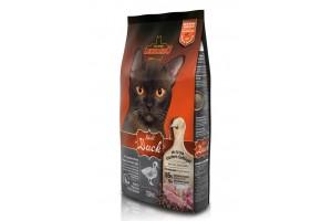 غذای خشک لئوناردو با طعم اردک مخصوص گربه حساس و بدغذا/ 7,5 کیلویی/ LEONARDO Adult Duck