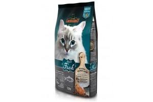 غذای خشک لئوناردو با طعم ماهی مخصوص گربه حساس و بدغذا/ 7,5 کیلویی/ LEONARDO Adult Fish