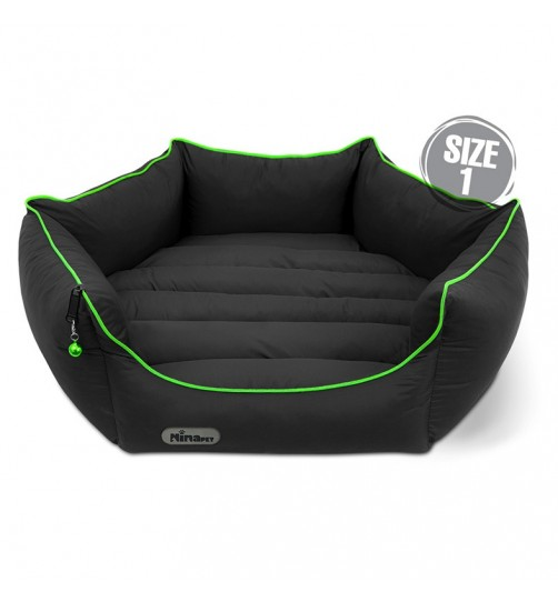 جای خواب سگ و گربه شش ضلعی سایز 1 ضدآب زیپ لاین
