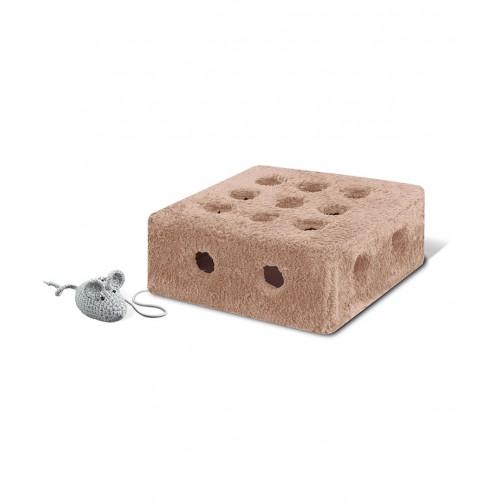 جعبه بازی گربه مدل پنیری