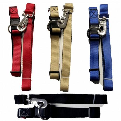 قلاده گردنی تسمهای سگ - سایز ۳ همراه با لید
