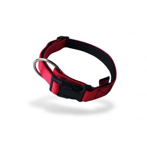قلاده گردنی تسمهای دولایه سگ - سایز ۳ بدون لید