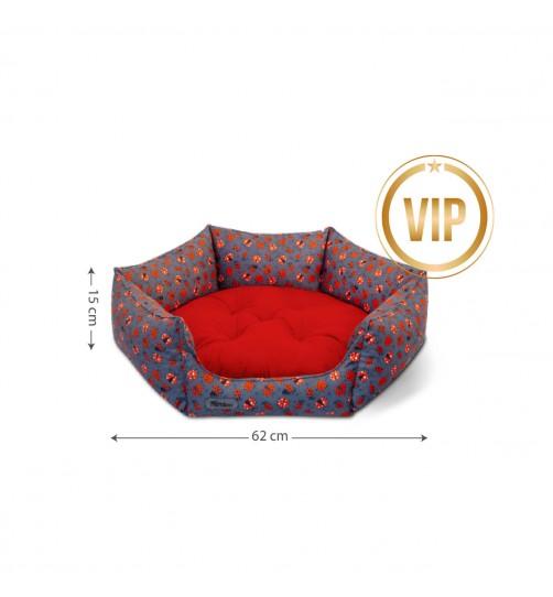 جای خواب  گربه و سگ VIP شش ضلعی سایز 0