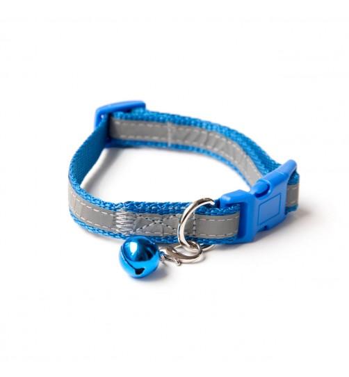 قلاده گردنی تسمهای  شبرنگ سگ - سایز 1 بدون لید