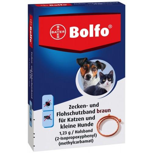 قلاده ضد کک و کنه Bolfo مخصوص سگ های کوچک و گربه