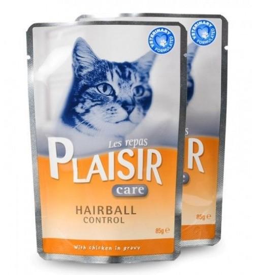 پوچ ضد هربال (توپ مویی) گربه/ PLAISIR HAIRBALL CONTROL