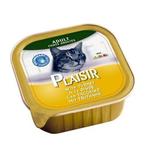 کنسرو کاسه ای گربه بالغ  حاوی گوشت بوقلمون