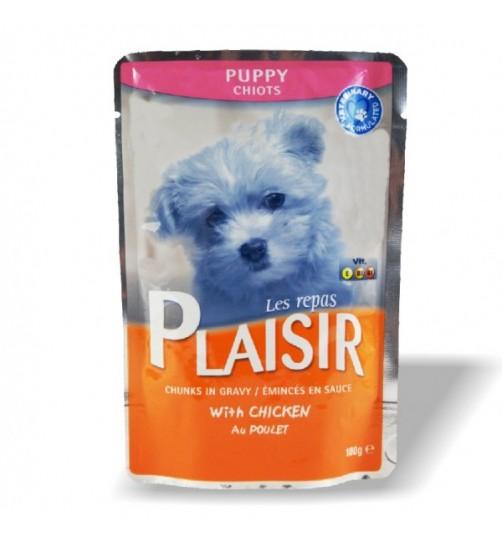 پوچ توله سگ PLAISIR حاوی گوشت مرغ