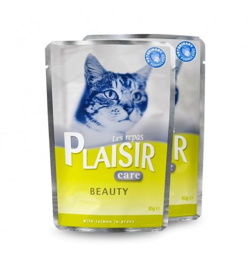 پوچ گربه PLAISIR  برای زیبایی پوست و مو - Beauty