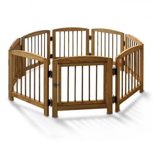 پارک سگ چوبی با ارتفاع 60 سانتیمتر