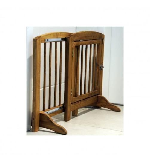 مانع عبور سگ - چوبی  و قابل تنظیم ارتفاع 60