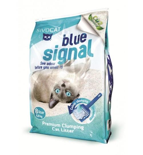 خاک گربه سیووکت / 6,8 کیلویی/ Blue Signal