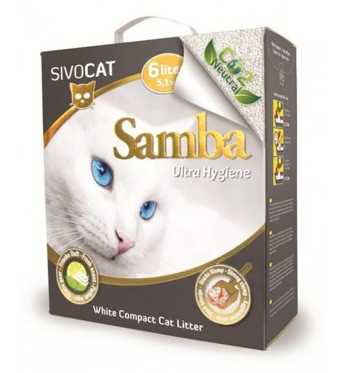 خاک گربه سیووکت/5,1 کیلویی/ Samba Ultra Hygiene