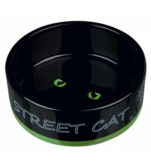 ظرف سرامیکی گربه طرح Street Cat