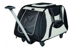 ساک حمل چرخ دار سگ با دسته تلسکوپی (ترالی)/ Trolley