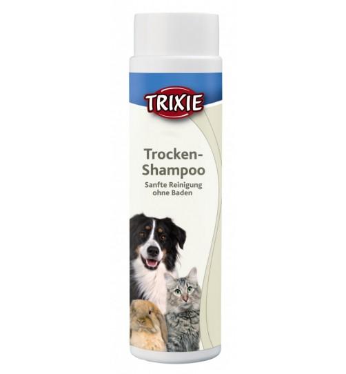 شامپو خشک پودری سگ، گربه و حیوانات کوچک/ 200 گرم