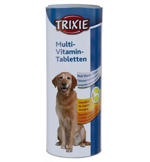 قرص مولتی ویتامین سگ تریکسی- 400 گرمی