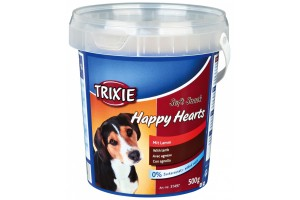 تشویقی سطلی سگ با گوشت بره - Happy Hearts