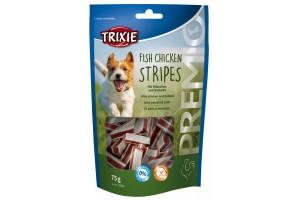 تشویقی نرم سگ با طعم مرغ و ماهی/ Fish Chicken Stripes