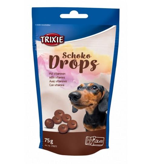 تشویقی سگ - قطره های شکلات ویتامینه - 75 گرمی