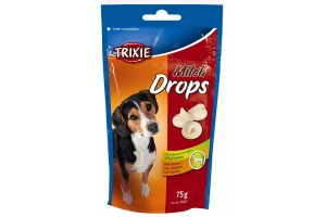 تشویقی سگ - قطره های شیری ویتامینه - 75 گرمی