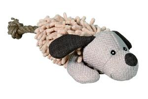 عروسک اسباب بازی طناب دار سگ