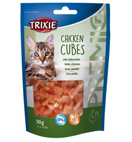 اسنک تکه ای گربه با طعم مرغ