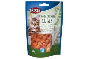 اسنک تشویقی گربه با طعم مرغ و پنیر