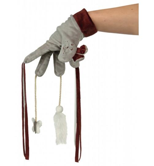 دستکش اسباب بازی گربه