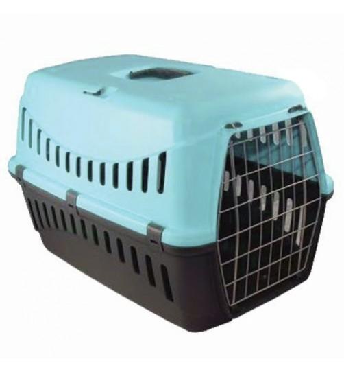 باکس حمل گربه و سگ کوچک طرح جیپسی با در فلزی