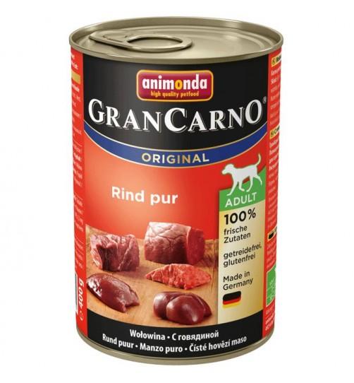 كنسرو گوشت گوساله مخصوص سگهای بالغ/ 400 گرمی/ Animonda GranCarno Beef pur