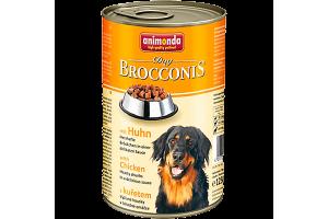 کنسرو BROCCONIS سگ با گوشت مرغ- 1240 گرم