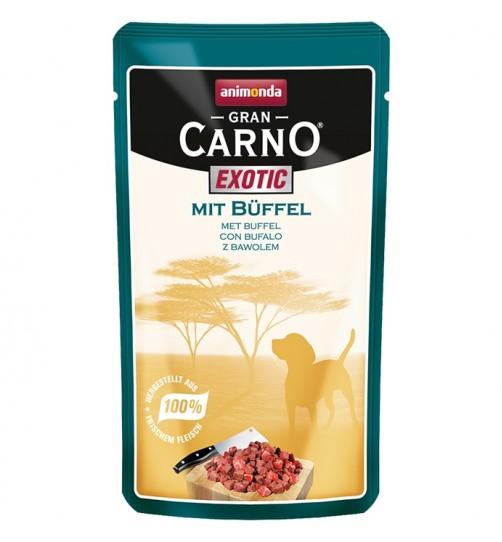 سوپ گوشت بوفالو مخصوص سگ بالغ /125 گرم/ Animonda GranCarno  Exotic with buffalo