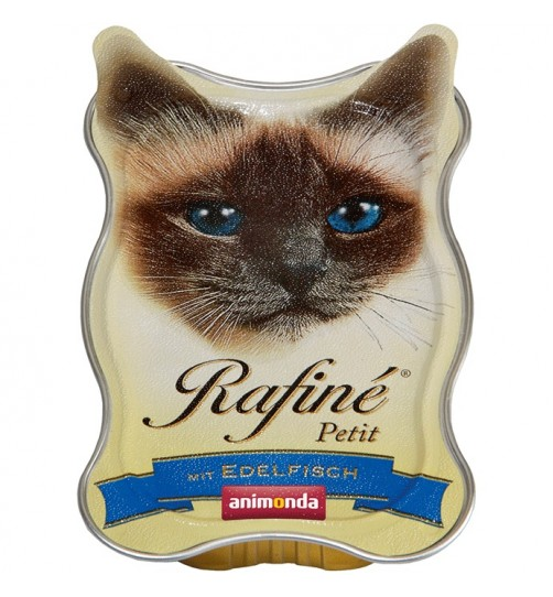 ووم پاته گربه Rafiné با گوشت ماهی