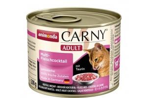 کنسرو کوکتل گوشت CARNY مخصوص گربه بالغ/ 200 گرمی