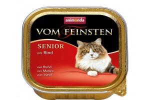 کنسرو گوشت گاو  Vom Feinsten مخصوص گربه بالای 7 سال/ 100 گرمی