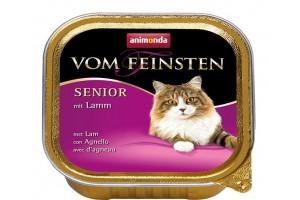 کنسرو گوشت بره Vom Feinsten مخصوص گربه بالای 7 سال/ 100 گرمی