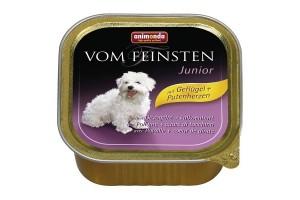 كنسرو مرغ و جگر بوقلمون مخصوص توله سگ/ 150 گرمی/  Animonda Vom Feinsten Junior