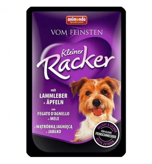 سوپ جگر و بره و سيب مخصوص سگ بالغ /85 گرم/ Animonda Vom Feinsten Kleiner Racker Adult with lamb liver + apples