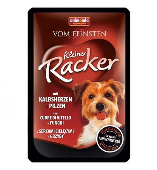 سوپ دل و گوشت گوساله + قارچ مخصوص سگ بالغ /85 گرم/ Animonda Vom Feinsten Kleiner Racker with veal heart + mushrooms