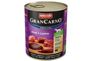 كنسرو گوشت بره و گوساله مخصوص سگهای بالغ/ 800 گرمی/  Animonda GranCarno Beef + Lamb